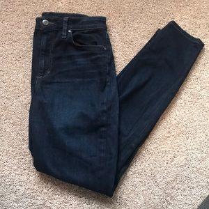Joes Jeans high rise skinny jean